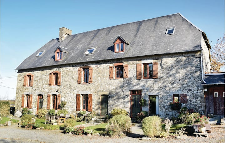 Stunning home in Maupertuis with WiFi and 4 Bedrooms