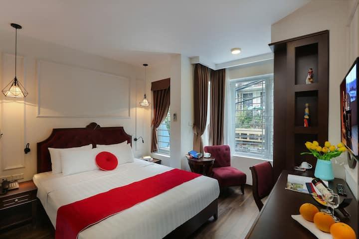 Hanoi La Vision Hotel - Deluxe City Old Quarter
