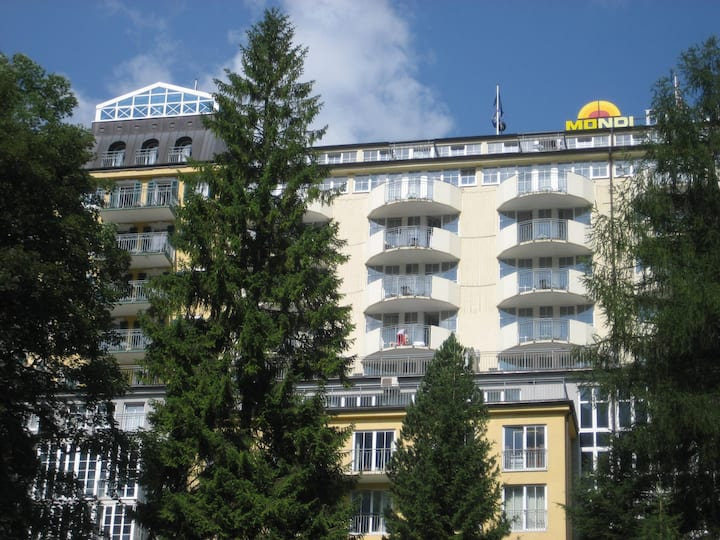 Turmsuite mit Panoramablick  in Bad Gastein