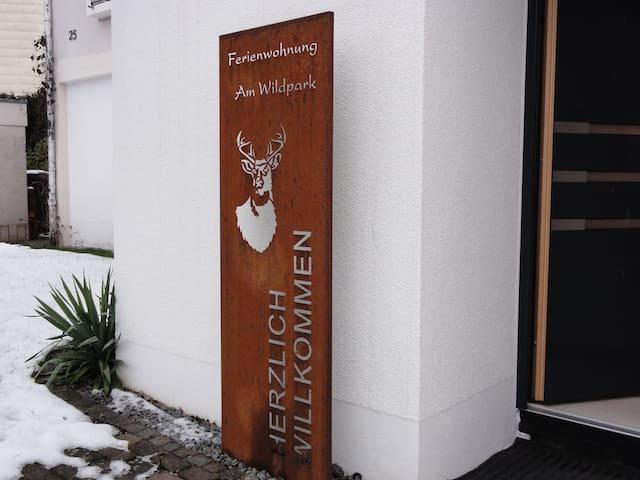 "Ferienwohnung ""am Wildpark"" HDH - Heidenheim an der Brenz - Leilighet"