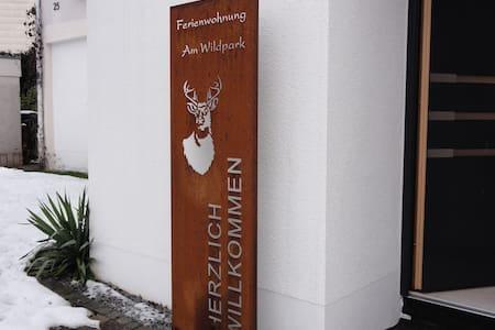 """Ferienwohnung """"am Wildpark"""" HDH - Heidenheim an der Brenz"""