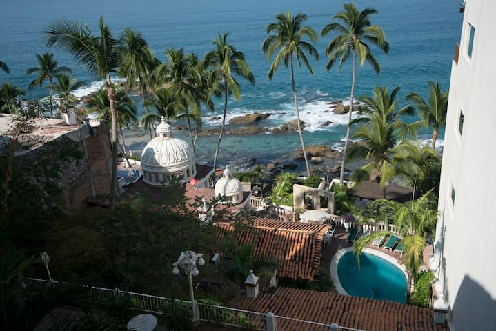 Mexican style 2BR 2Bth with stunning ocean views - Puerto Vallarta - Kondominium