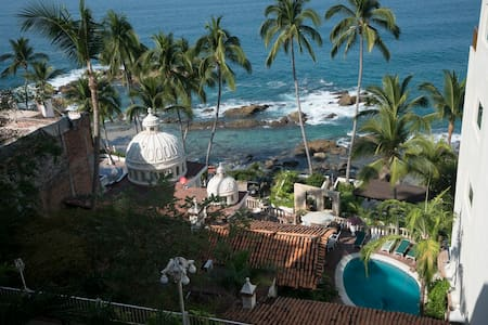 Mexican style 2BR 2Bth with stunning ocean views - Puerto Vallarta