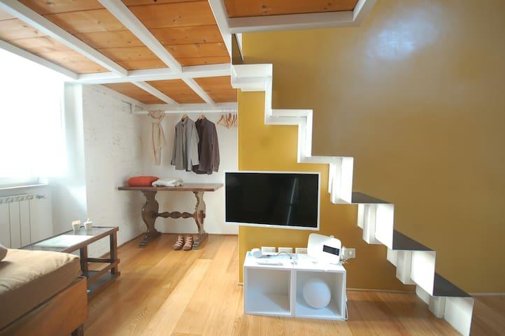 *Renovated!* Trastevere Mini loft - Rome