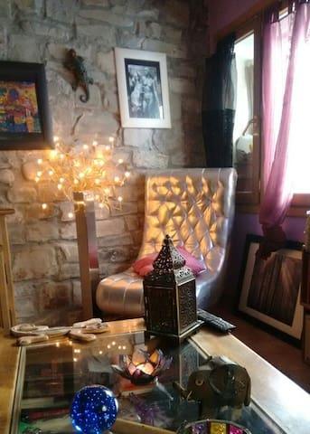 Casa acogedora en el Pirineo - Jasa