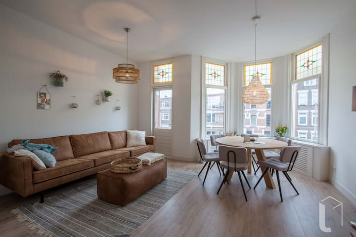 Private New Apt (3pers) nearby Centre & University - Rotterdam - Apartemen