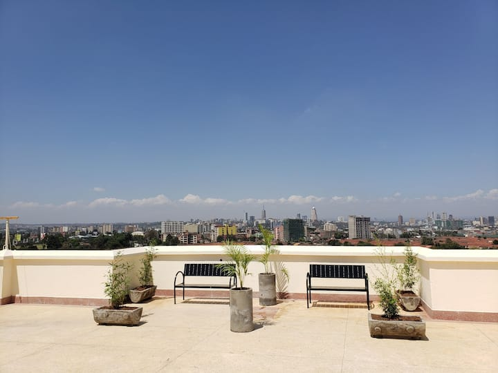 Look No Further! (Nairobi Roof Top Apartment)