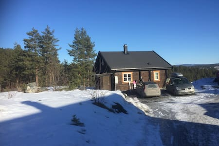 New cottage with fantastic view  - Kongsberg - Huis