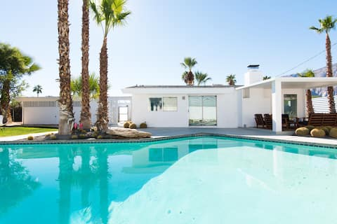 No 444 Immaculate Mid Century Home + Heated Pool