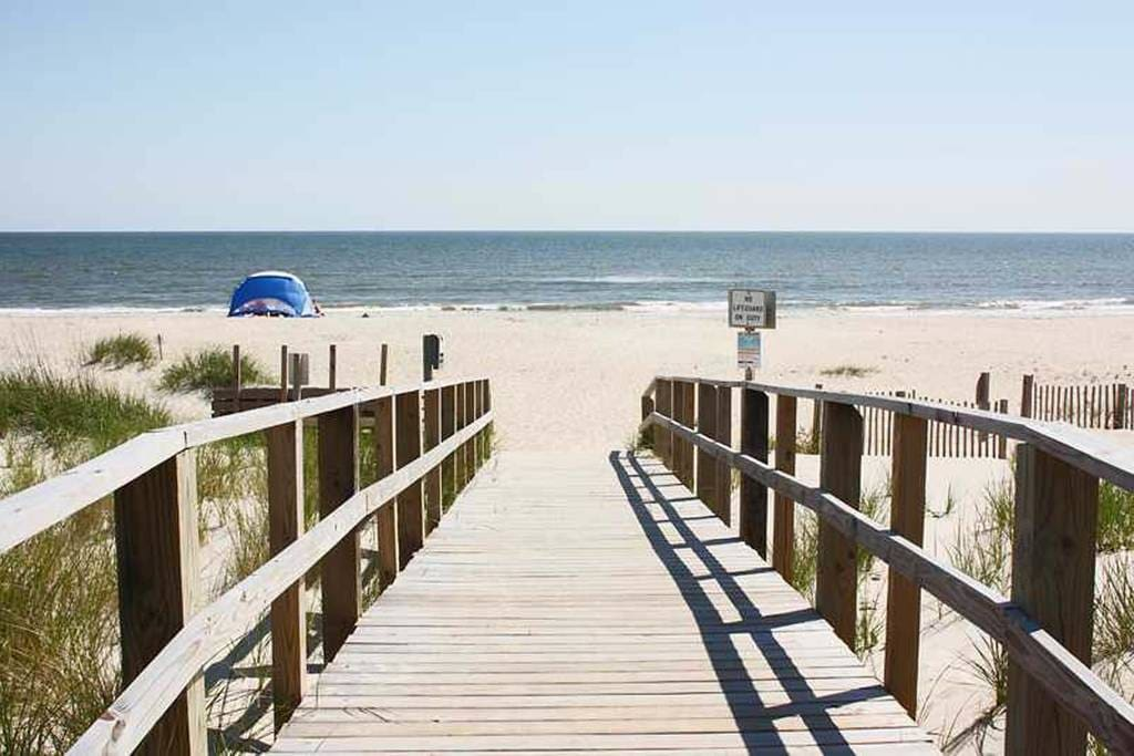 You will be a short 5 minute walk from the beach!