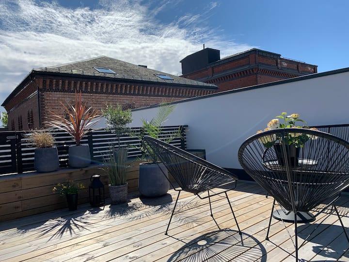 Ny leilighet i sentrum av Kristiansand.