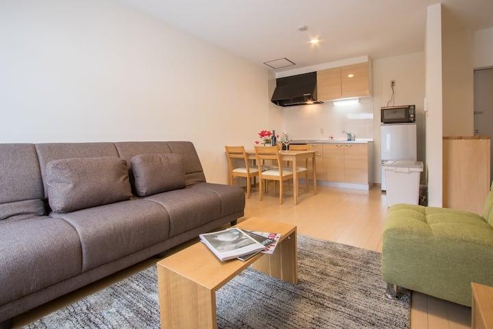 Mori Apartments 1 bdr apartment 1A in Hirafu