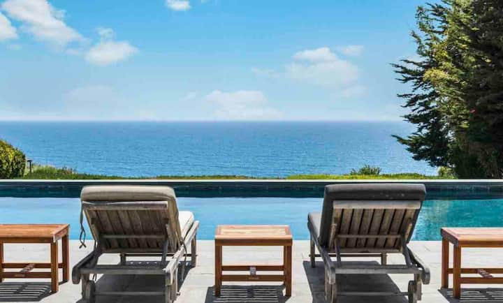 Ocean Escape Malibu Dream House with Pool, Hot Tub