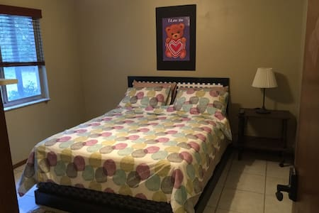 Retreat in the Woods! - Private Bedroom 1 - DeLand