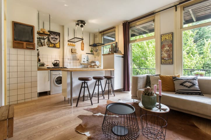 Lovely studio apartment in the Jordaan area - Amsterdam - Appartamento