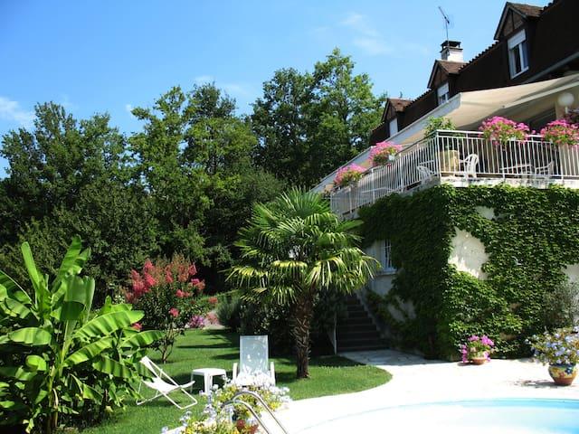 Villa avec vue, climatisée, piscine chauffée