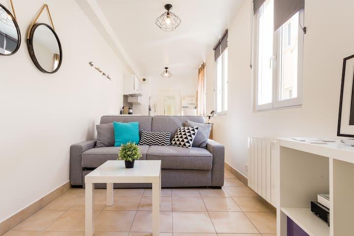 Sp2- Appartement 20 m², 15 min de Paris