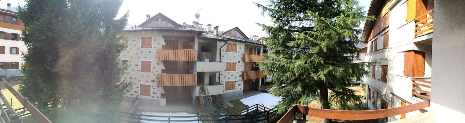 Ampio bilocale con terrazze - Caspoggio