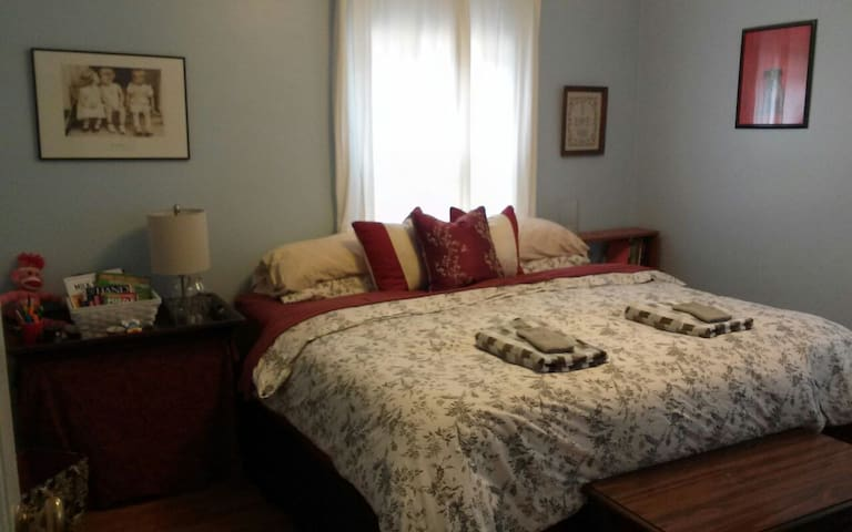 Cozy, Quiet, Clean room in East Cinci - Cincinnati - Huis