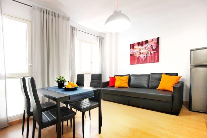 Modern Apartment El Borne, Barcelona Center