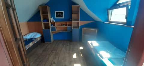 Ponúkam ubytovanie na chate v Nitre na Zobori