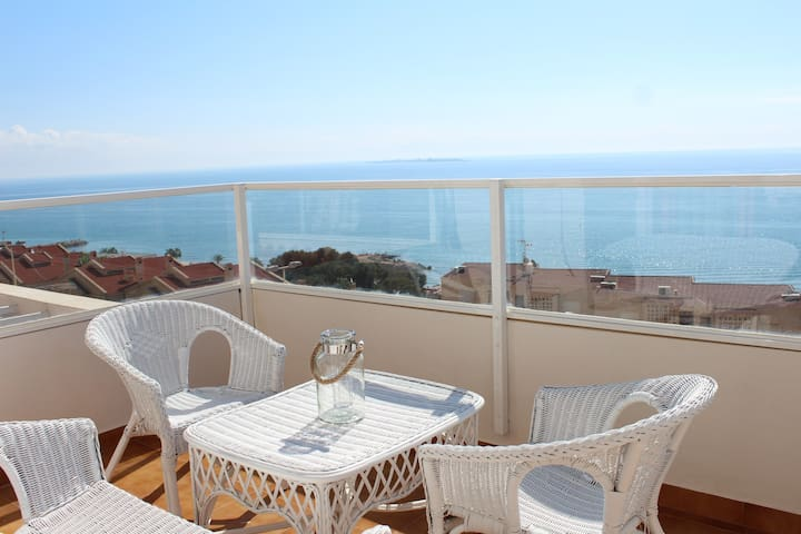 Vistas excepcionales y gran terraza - Santa Pola - Appartement