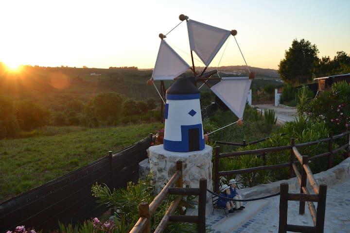 Casa Matão - Casa móvel azul - Alcobaça