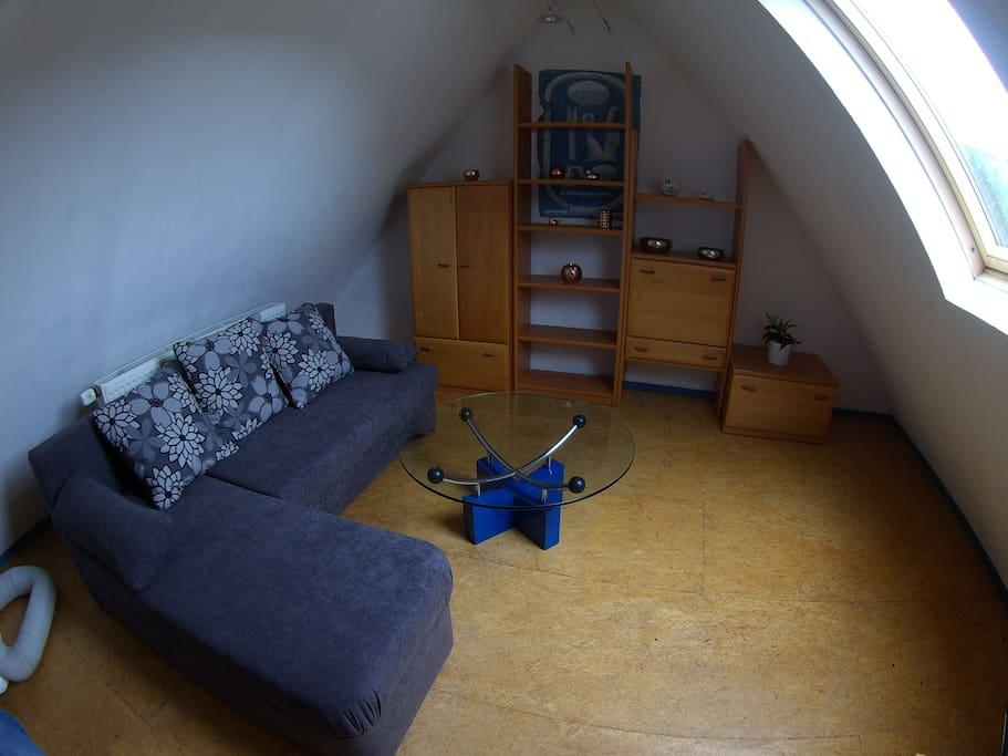 Oberes Wohnzimmer