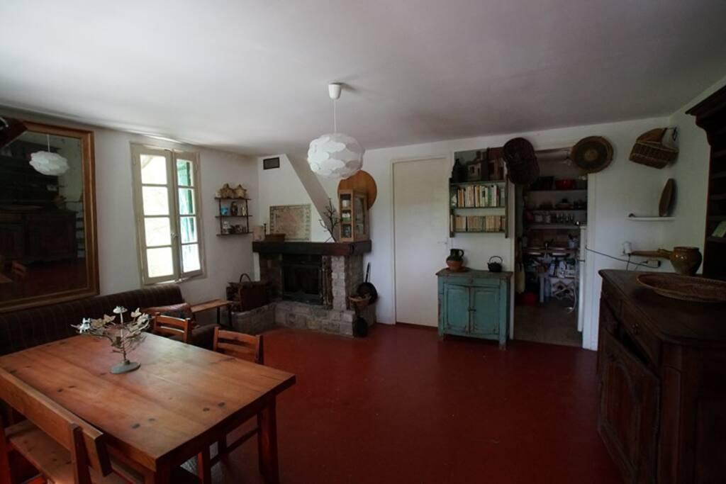 Salon -salle à manger
