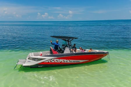 Ocean Islamorada BeachHouse wavail Boat & 70' DOCK