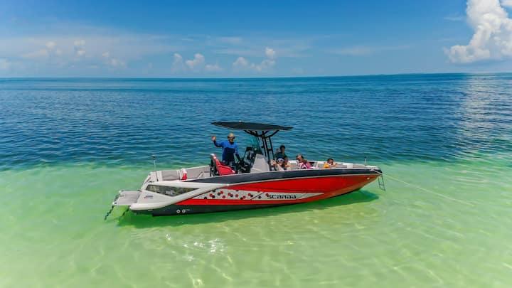 Ocean Islamorada BeachHouse POOL!70' DOCK boatrent