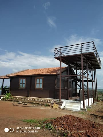 Hill Top Wooden Cottage best for getaway .