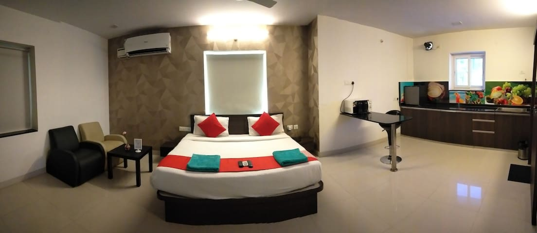 Rs-2500/-perday Suit for peaceful stay in kondapur