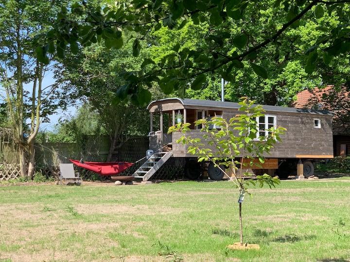 Bauwagen an der Ostsee - Urlaub auf die andere Art