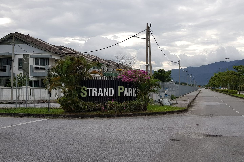 Main entrance of Strand Park @ Bandar Baru Sri Klebang