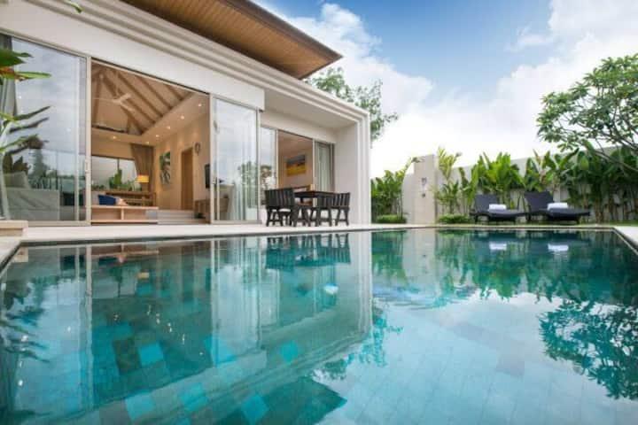 3Br pool villa near bangtao beach and laguna area