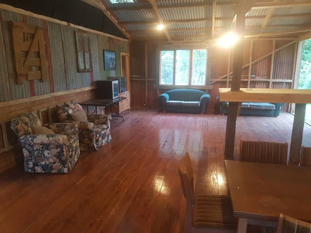 Woolshed bunkhouse