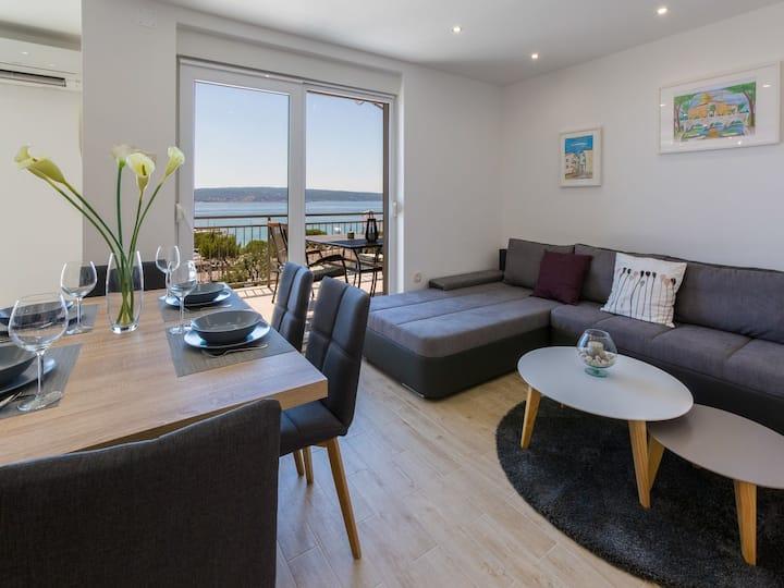Two Bedroom Apartment, in Crikvenica, Balcony