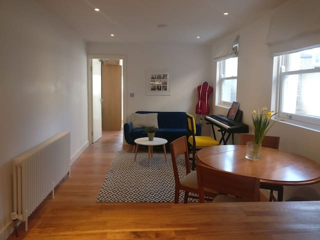 Quirky, cosy and modern flat in Hackney