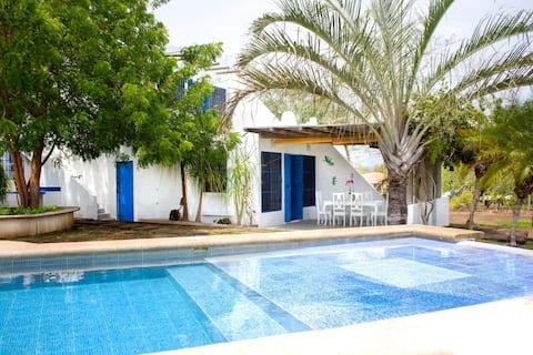 Casa Veranera - Oasis privado a 10min de playa