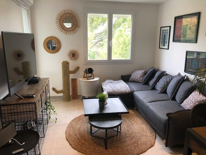 Appartement 3chambres/parking proche MONTPELLIER