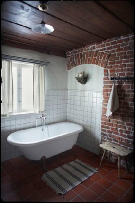 Pokój kąpielowy w apartamencie Pokój Sukien