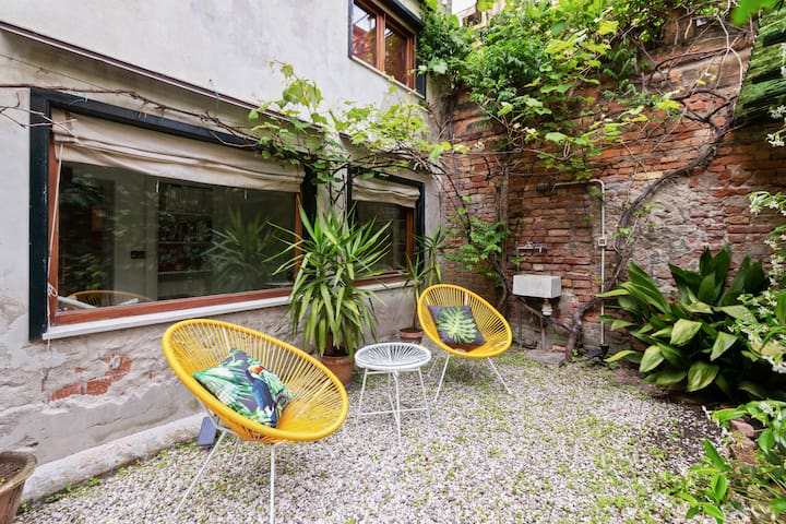 The Garden in the Courtyard