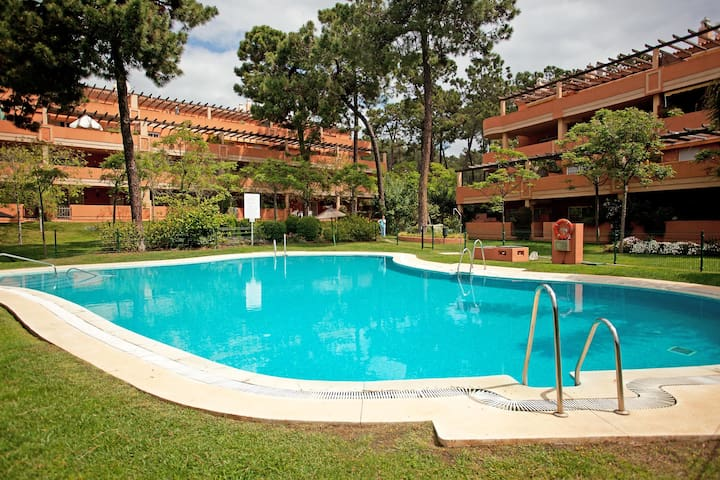 2 bed garden apartment, Pino Golf de Don Carlos