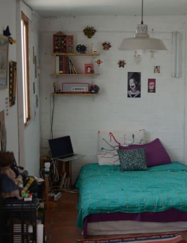 Barranco Double Bed room in Apartment - Barranco District - Huoneisto