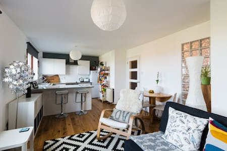 Bright, Beach Apartment - Findhorn  - 公寓