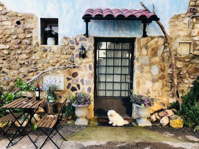 Cabaña rural con encanto