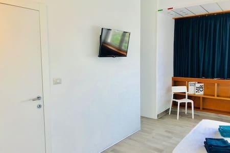 Modern and elegant  sea view room