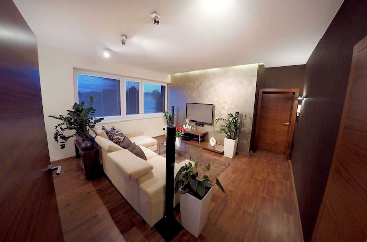 COMFY & SPACIOUS APARTMENT /SOUTH MORAVIAN GETAWAY