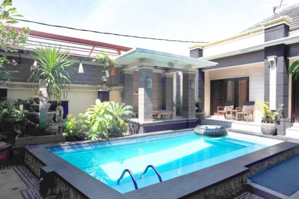 Denays house low budget hotel jimbaran beach for Low budget hotel